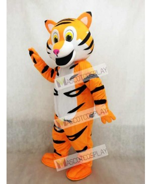 New Friendly Tiger Mascot Costume