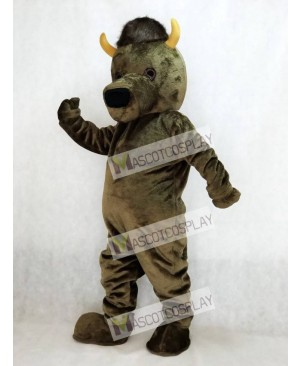 Marshall Thundering Herd Marco the Bison Buffalo Mascot Costume
