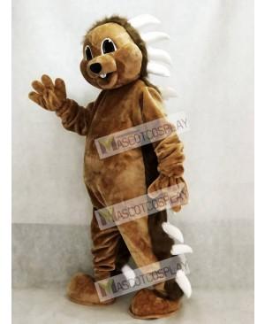 Cute Brown Porcupine Mascot Costume Animal