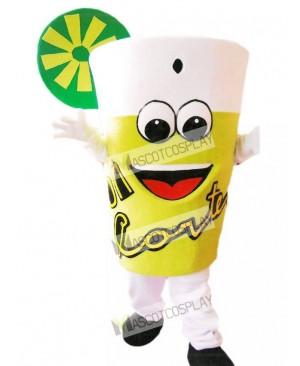 Yummy Lemonade Mascot Costume Drink