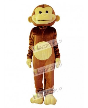 High Quality Adult Monkey Mascot Costume