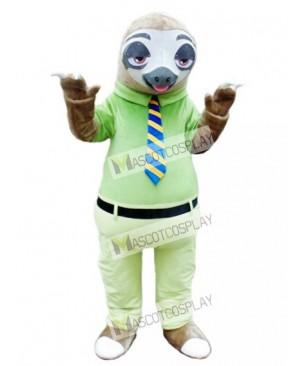 Mr. Sloth Mascot Costume