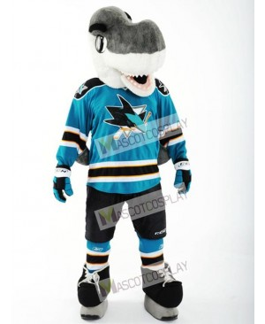 S.J. Sharkie of the San Jose Sharks Mascot Costume Shark