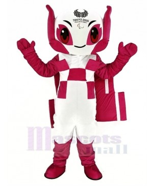 Red Japan Olympics Tokyo 2020 Someity Japanese Mascot Costume