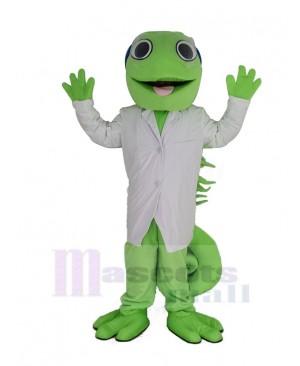 Chameleon Lizard Iguana Green Reptile Mascot Costume