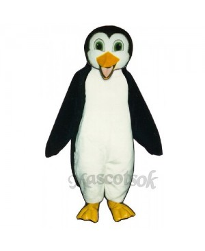 Cute Molly Penguin Mascot Costume