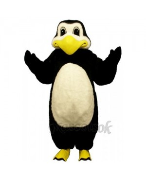 Cute Polar Penguin Mascot Costume