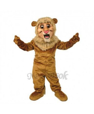 Cute Lion Mascot Costume