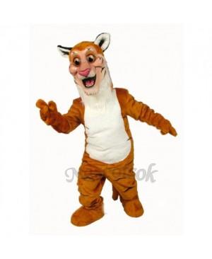 Cute Tiger Mascot Costume