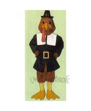 Cute Tom Gobble Mascot Costume