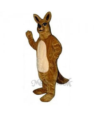 Cute Mamma Kangaroo Mascot Costume