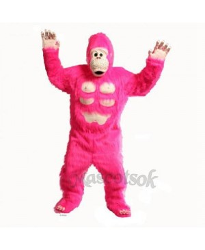 Cute Comic Gorilla Mascot Costume
