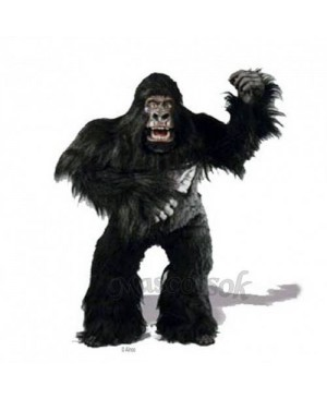 Cute Simian Gorilla Mascot Costume