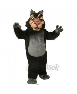 Cute New Wolf Mascot Costume