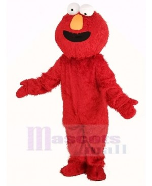 Super Sesame Street Red Elmo Monster Mascot Costume