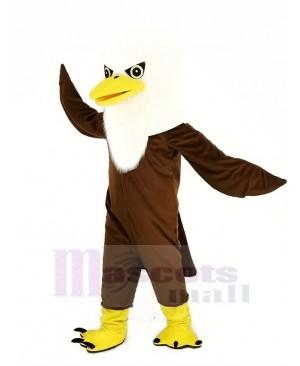 Brown Long Wool Eagle Mascot Costume Animal