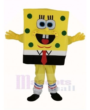 SpongeBob Squarepants Mascot Costume Cartoon