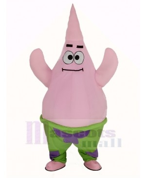 SpongeBob Patrick Star Mascot Costume Cartoon