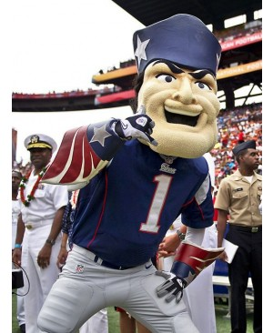New England Patriots Mascot Adult Costume