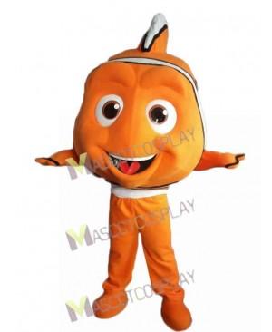 Finding Nemo Orange Clown Fish Mascot Costume Cartoon Character