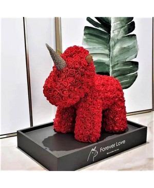 Red Rose Unicorn Flower Unicorn Best Gift for Mother's Day, Valentine's Day, Anniversary, Weddings and Birthday