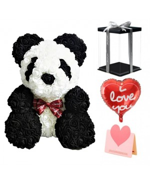 Panda Rose Bear Best Gift for Mother's Day, Valentine's Day, Anniversary, Weddings and Birthday