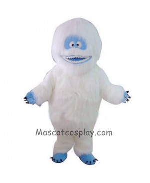 Yeti Abominable Snowman Mascot Costume Halloween Party Outfit