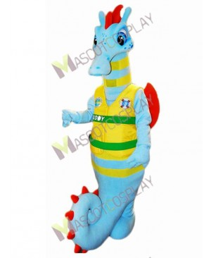 Sea Horse Buddy Mascot Costume