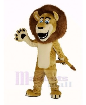 Alex The Lion Mascot Costume Animal