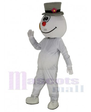High Quality Frosty Snowman Mascot Costume Cartoon
