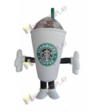 Hot Sale Adorable Starbucks Coffee Cup Mug Mascot Costume
