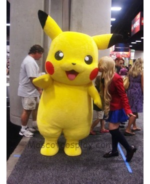Pikachu Fancy Dress Outfit Pokemon Pokémon Go Mascot Costume