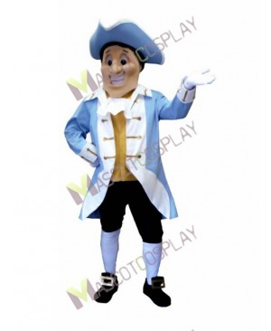 High Quality Adult Yorktown Patriot Mascot Costume