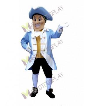 High Quality Adult Yorktown Patriot Mascot Costume