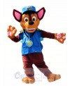 Paw Patrol Chase Dog Mascot Costume German Shepherd Puppy Police and Traffic Cop Dog Costume