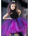 Wild Queen Children Girl Tutu Dress Halloween Girls Dresses Cosplay Costume Little Witch Vampire Pirate Tutu Dress