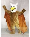 Griffin Mascot Costume with Yellow Wings