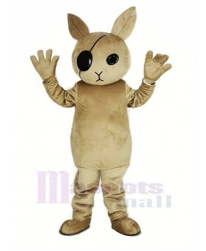 Rabbit Butler Mascot Costume Cartoon