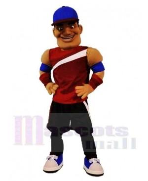 Sporty Man Mascot Costume