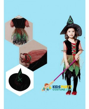 Baby Kids Children Cosplay Costumes Witch Batman Hulk Superhero Carnival Halloween Cosplay Costumes for Girl