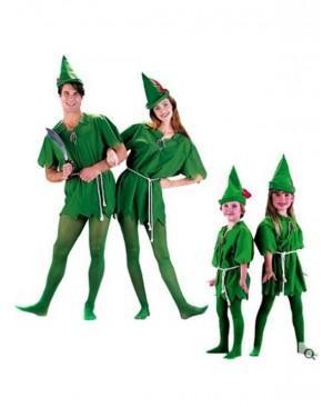 Cosplay Peter Pan Costume Child Kids Cartoon Movie Costume Sexy Women Girls Boys Peter Pan Costume