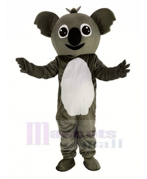Small Gray Koala Mascot Costume Animal