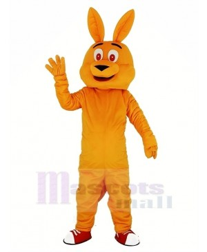 Orange Kangaroo Mascot Costume Animal
