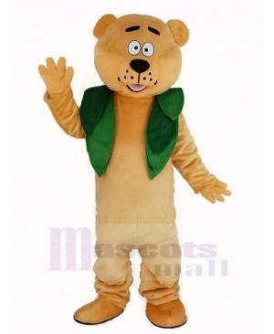 Berry Bear Mascot Costume Animal