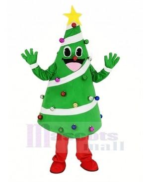 Christmas Xmas Tree Mascot Costume Cartoon