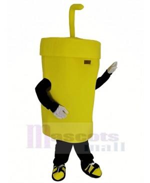 Big Yellow Cup Mascot Costume